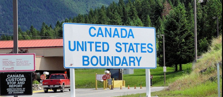 Canadian immigration officials have asked for help and co-operation with their US counterparts to deter illegal border crossings.