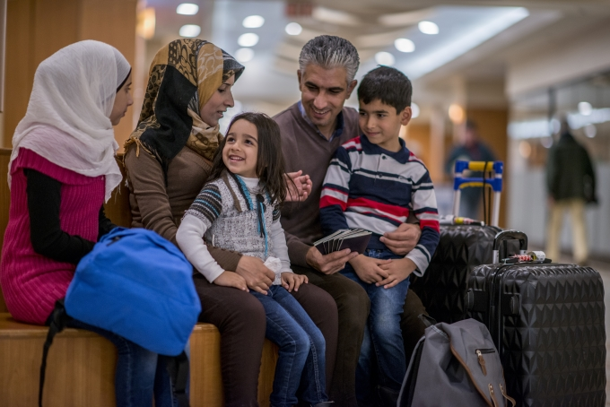 Canadian Immigration lawyer assisting client with Refugee Claims