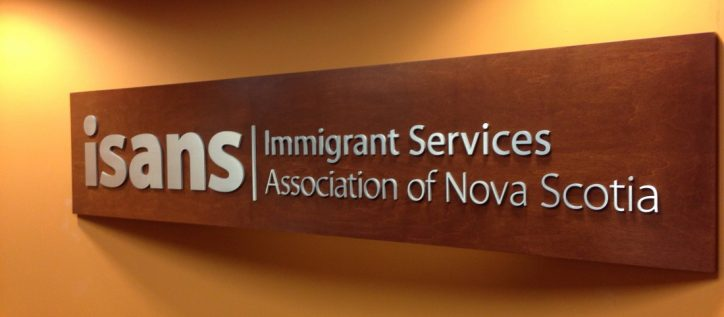 Office of ISANS immigation services association of Nova Scotia