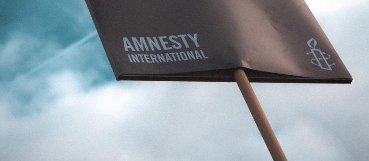 Amnesty international sign
