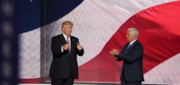Donald Trump and Mike Pense