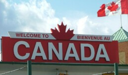 Welcome to Canada Sign, https://www.flickr.com/photos/prachatai/36337897212